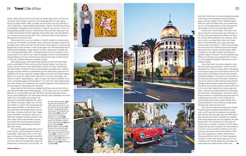Côte d'Azur, Travel