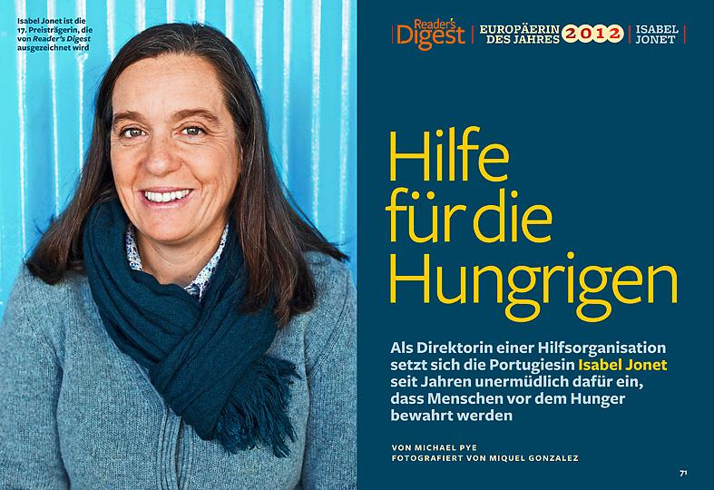 Isabel Jonet, Banco Alimentar