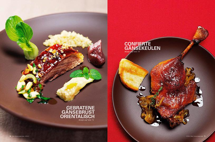 Gans Culinaire Fotografie Gansrezepte, Restaurant Jacobs, Hamburg