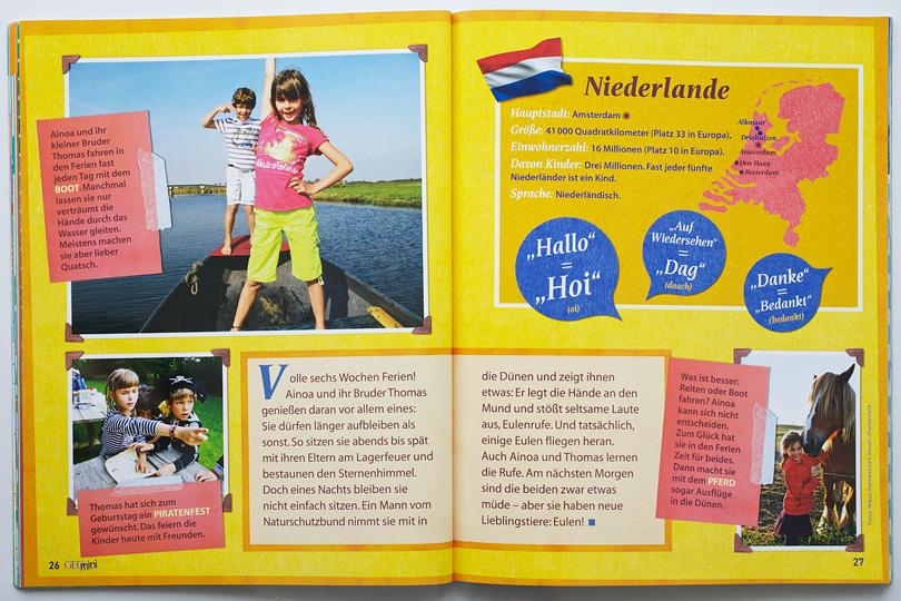 Geo Mini Niederlande Porträt