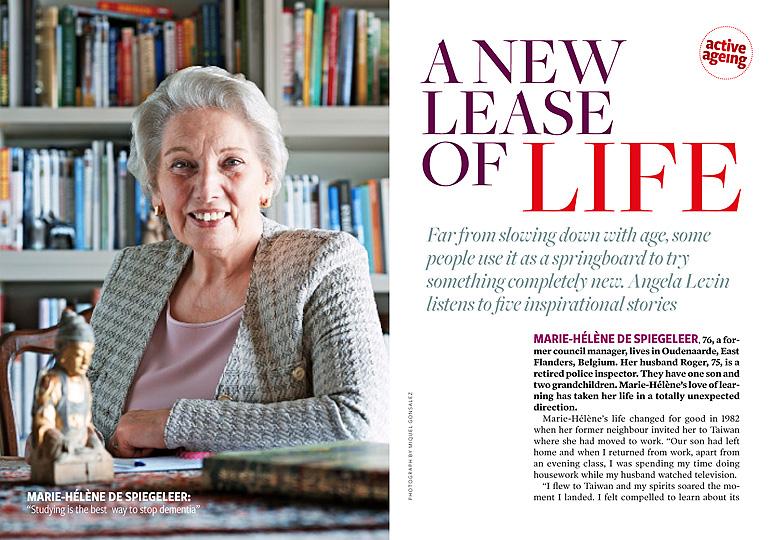 Marie-Helene de Spiegeleer aging education
