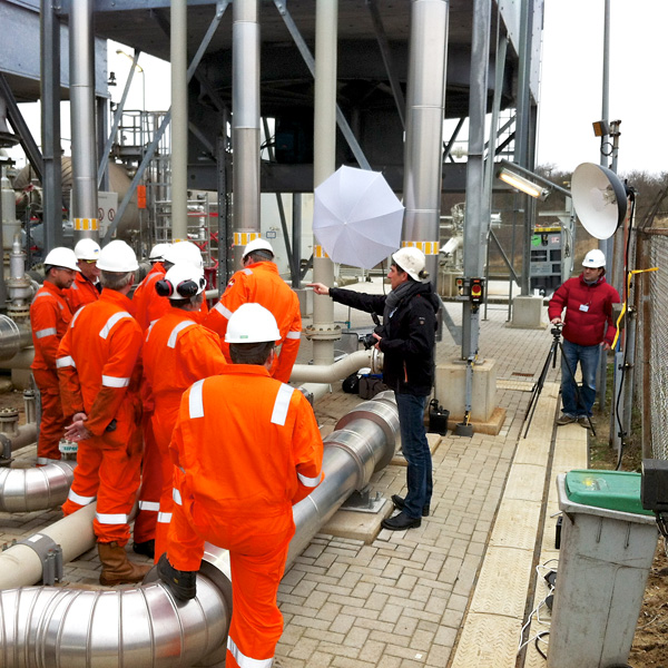 Industriral photo shoot, The Netherlands