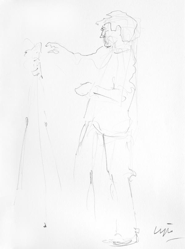 Portret of Miquel Gonzalez, Fotograaf, by Marijke Lips