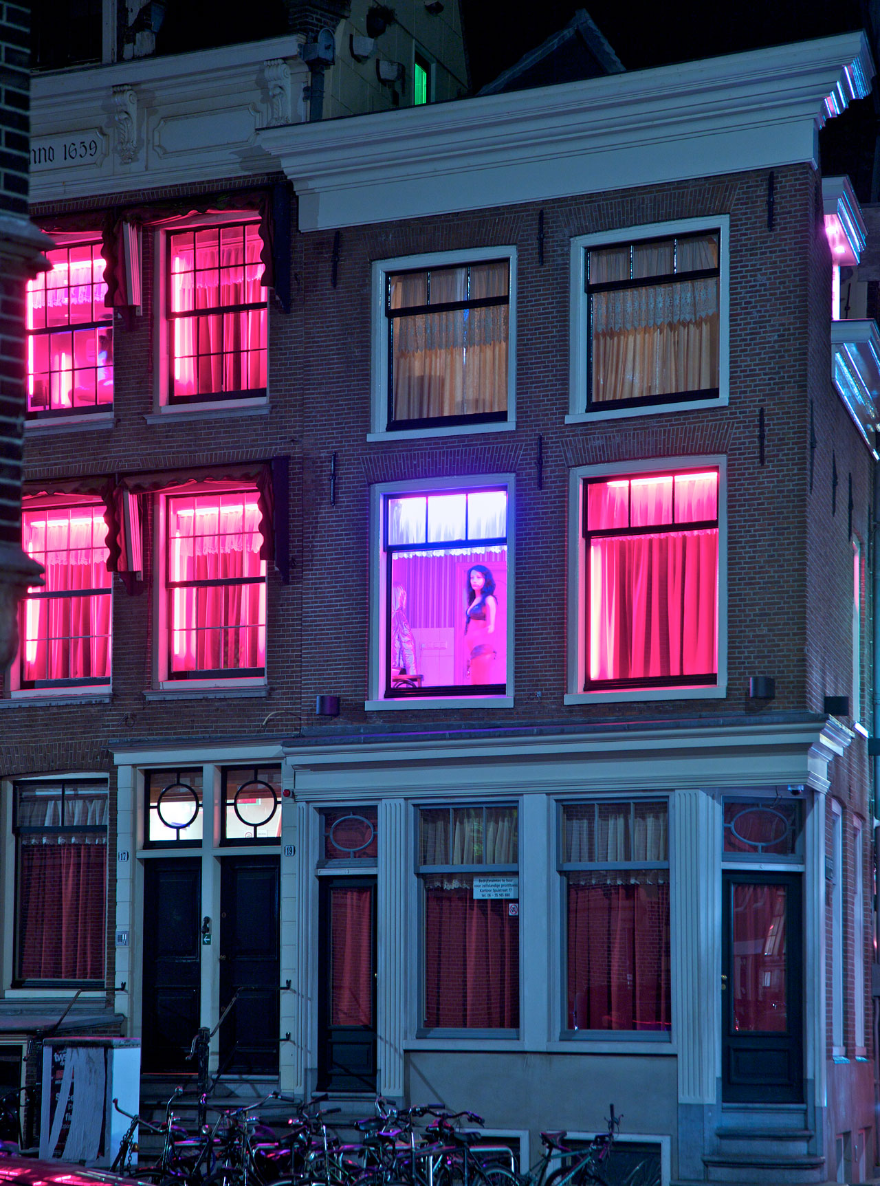 Redlight District, Amsterdam, Die Zeit