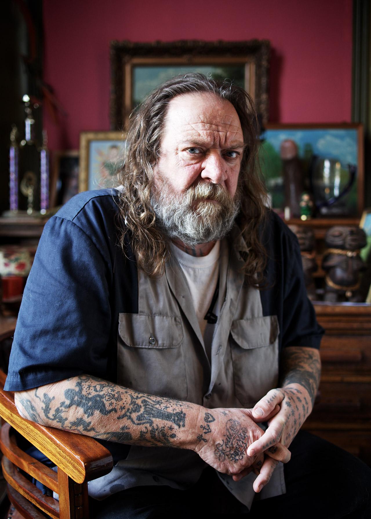 Henk Schiffmacher, tattoo artist, Amsterdam