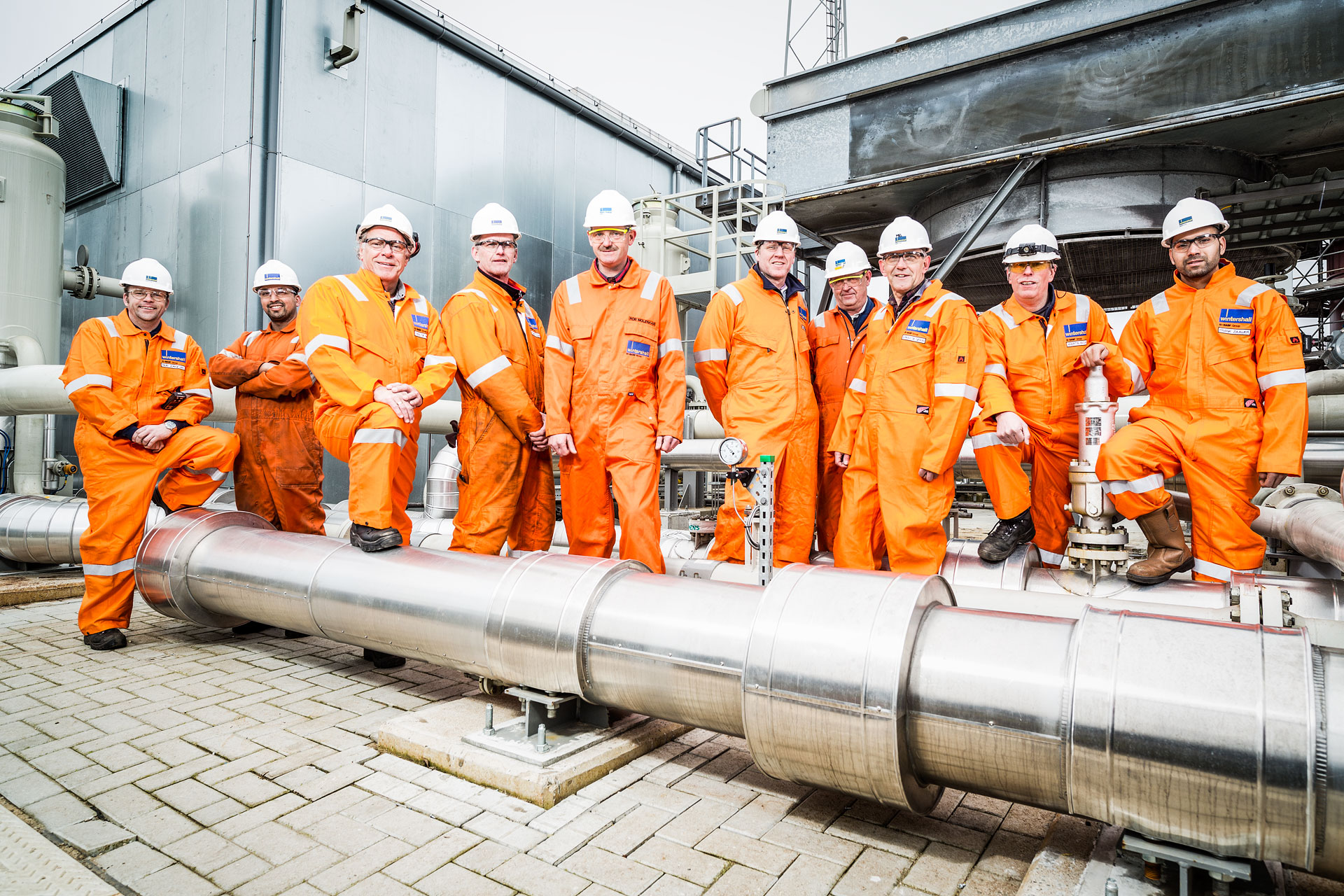 Wintershall Team, The Netherlands