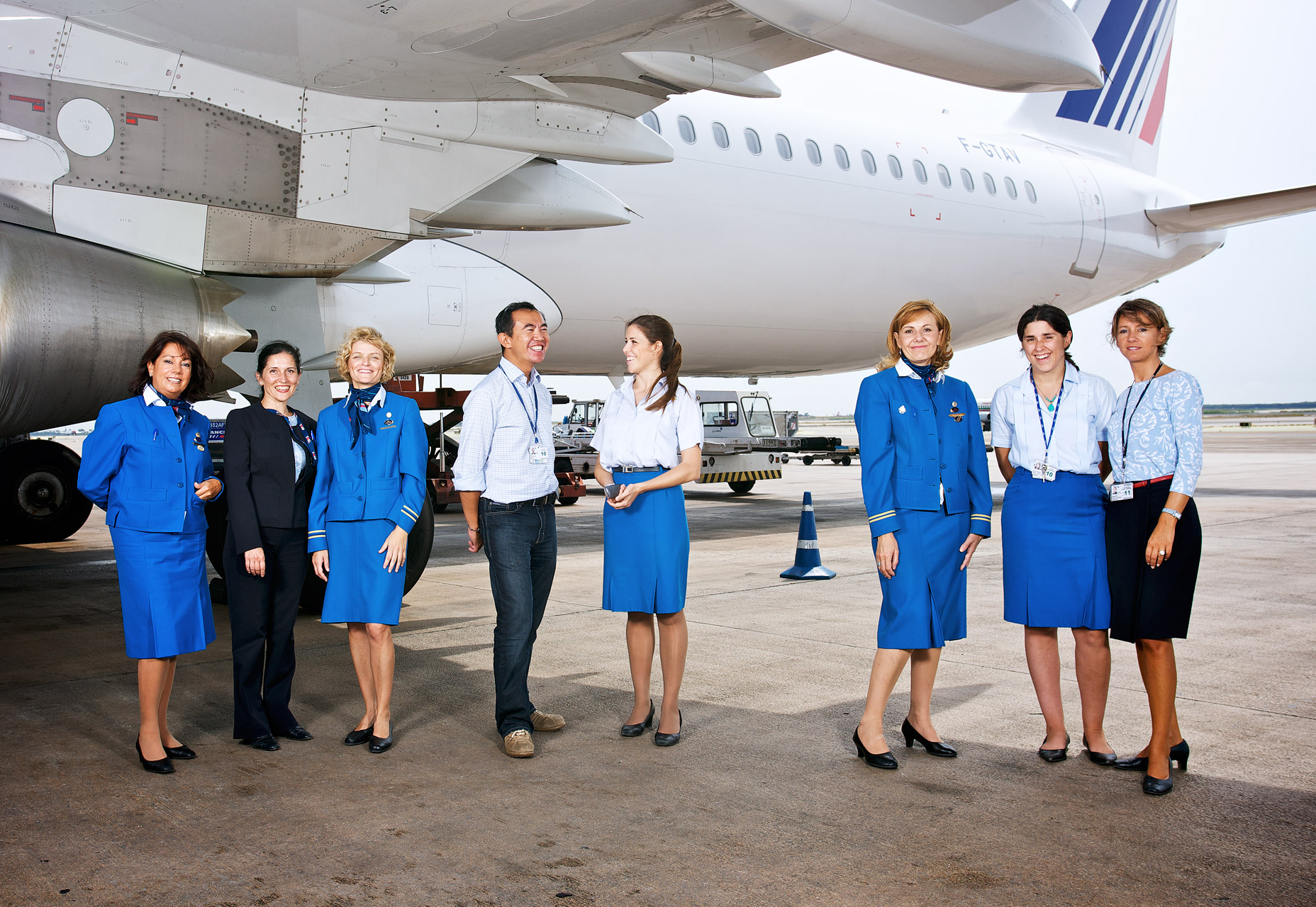 KLM Air France, Le Team, Barcelona, for Wolkenridder