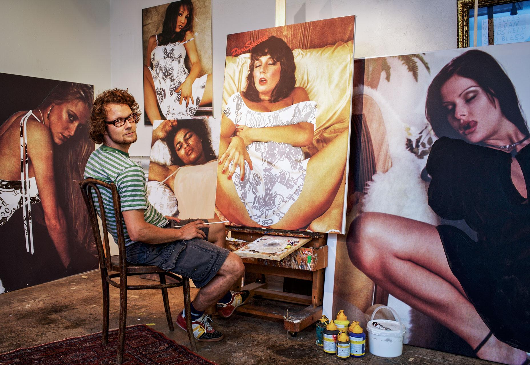 Jani Leinonen, artist, Helsinki