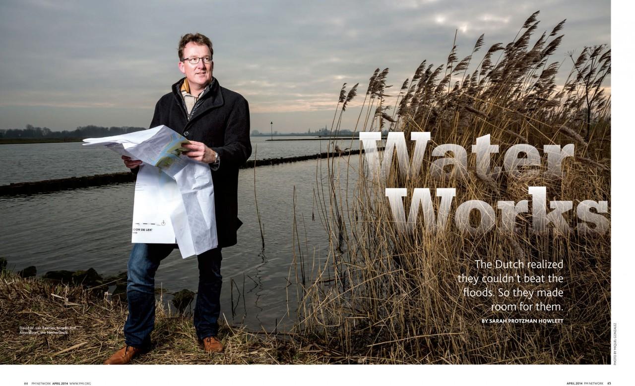 Room for River, Corporate Portrait, Netherlands