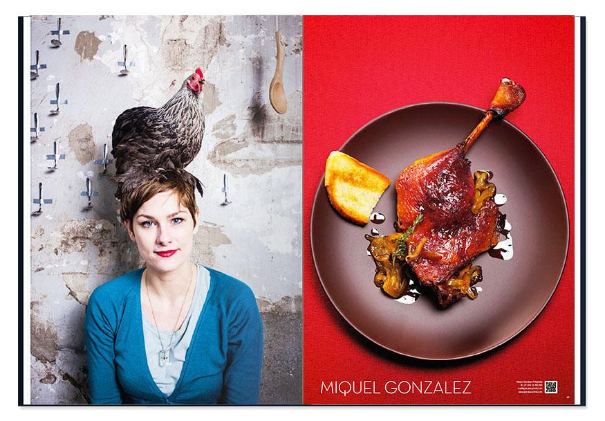 Miquel Gonzalez, portret culinair fotograaf