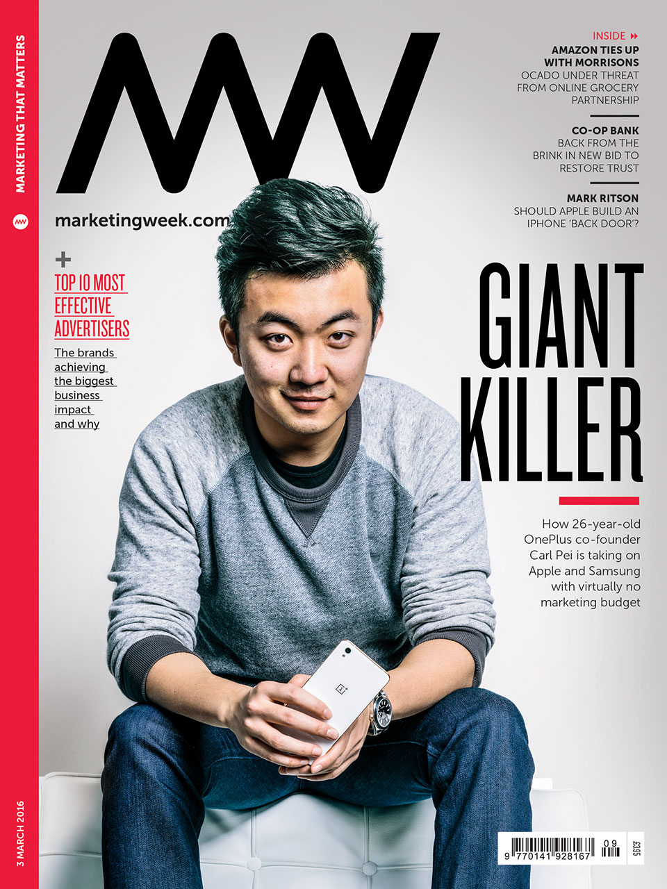 OnePlus co-founder Carl Pei Portrait