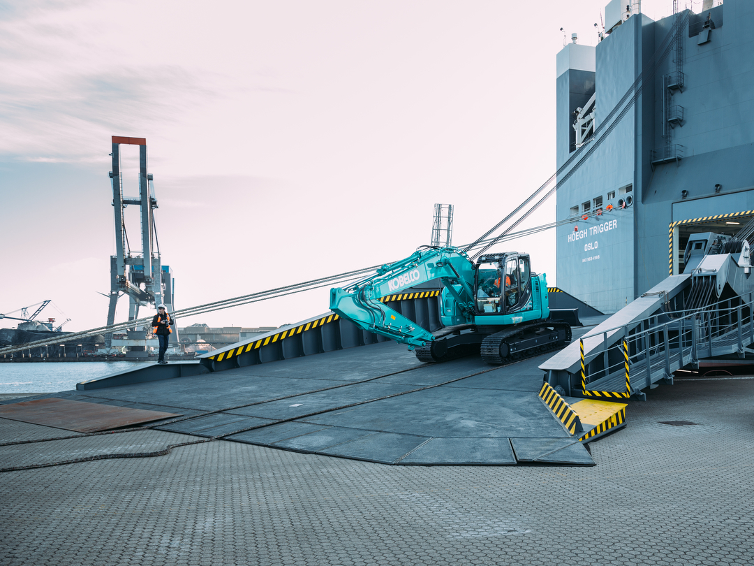 Industrial photography Port of Amsterdam