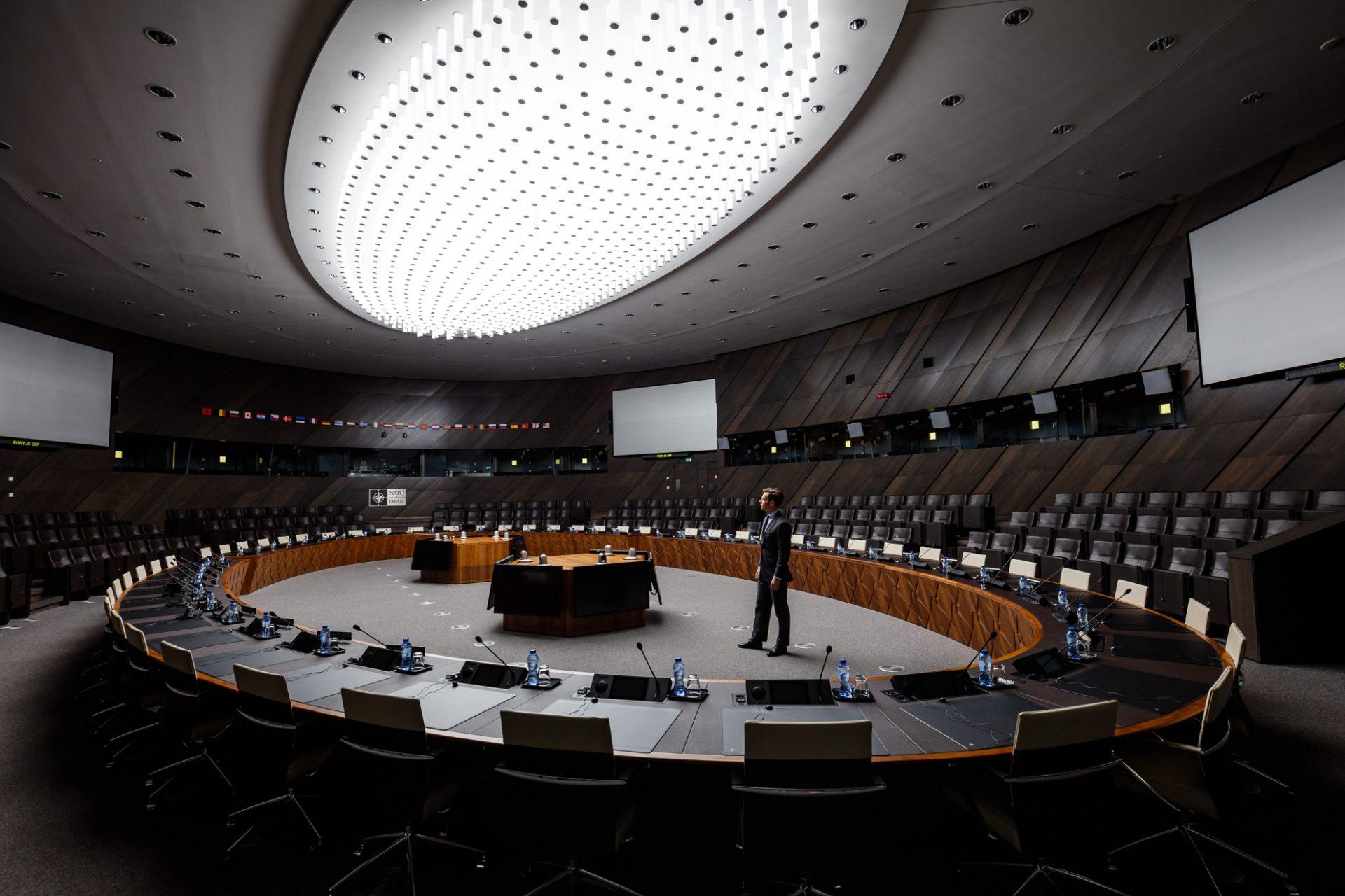 Europe, Belgium, Brussels, NATO