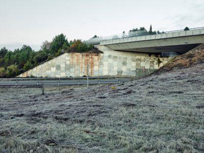 Montearenas (A-6 motorway), Ponferrada, León.