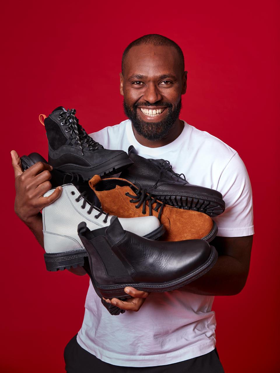 Tewodros Dechase - Leatherboots